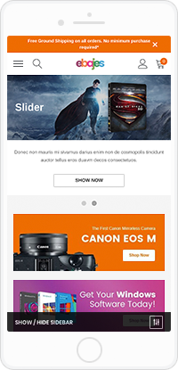 Ebajes - Free Responsive Bigcommerce Template (Stencil Ready)