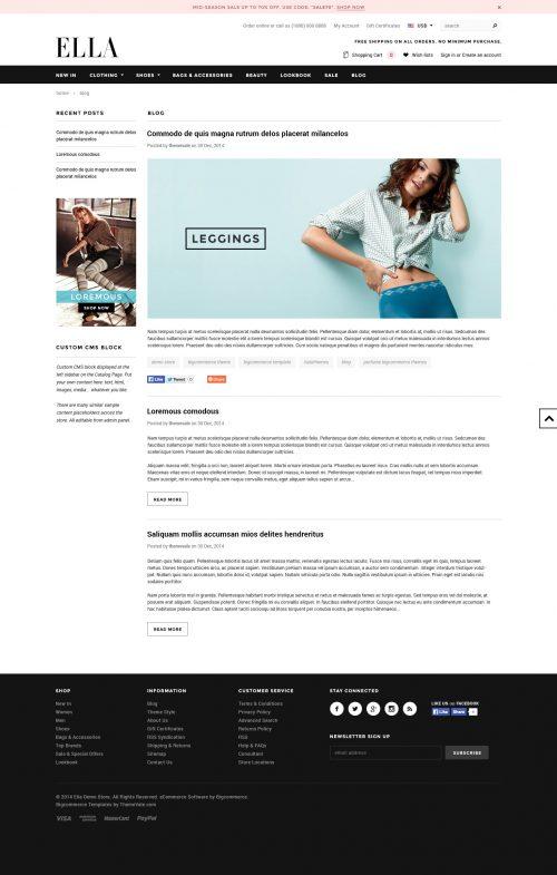 ELLA - Premium Responsive Bigcommerce Template (Stencil Ready)