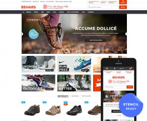 Behars - Premium Responsive Bigcommerce Template (Stencil Ready): Initial Release