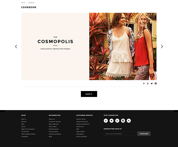 Bigcommerce Add-ons: LookBook - Stencil Ready