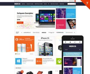 MEROS - Premium Responsive Bigcommerce Template: Initial Release