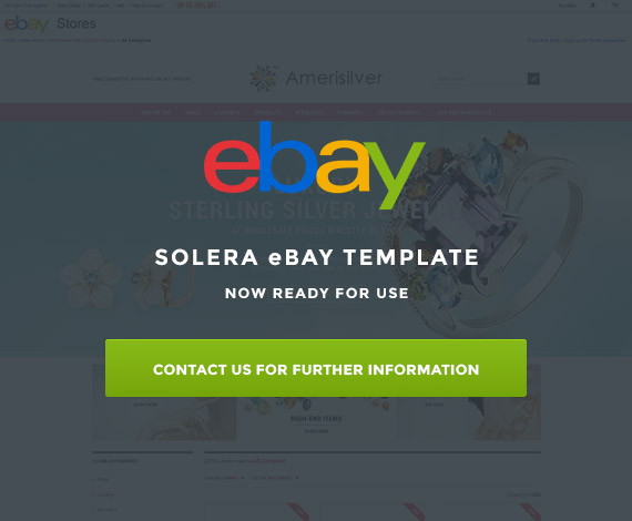 SOLERA eBay Template Now Ready For Use