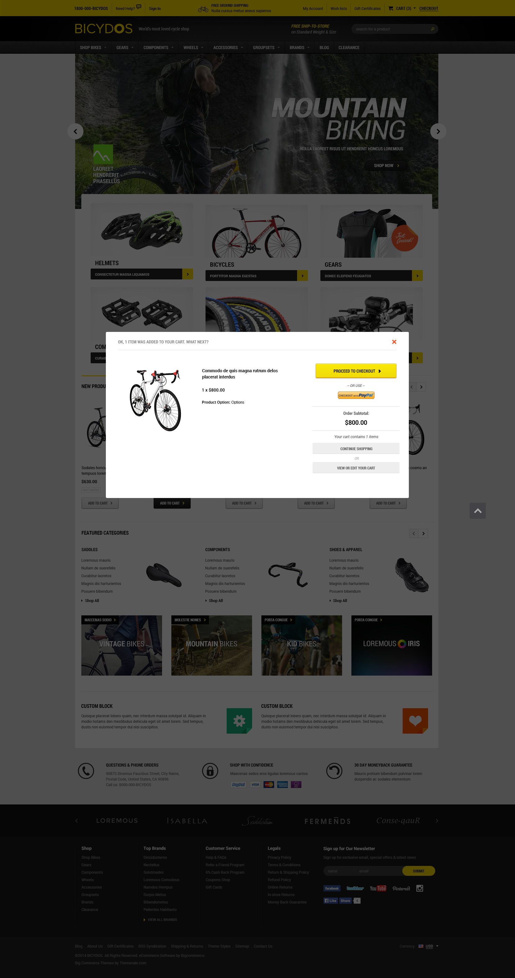 Bicydos - Premium Responsive Bigcommerce Template (Stencil Ready ...