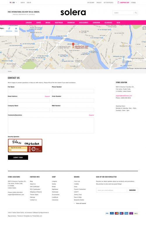 Solera - Premium Responsive Bigcommerce Template (Stencil Ready)