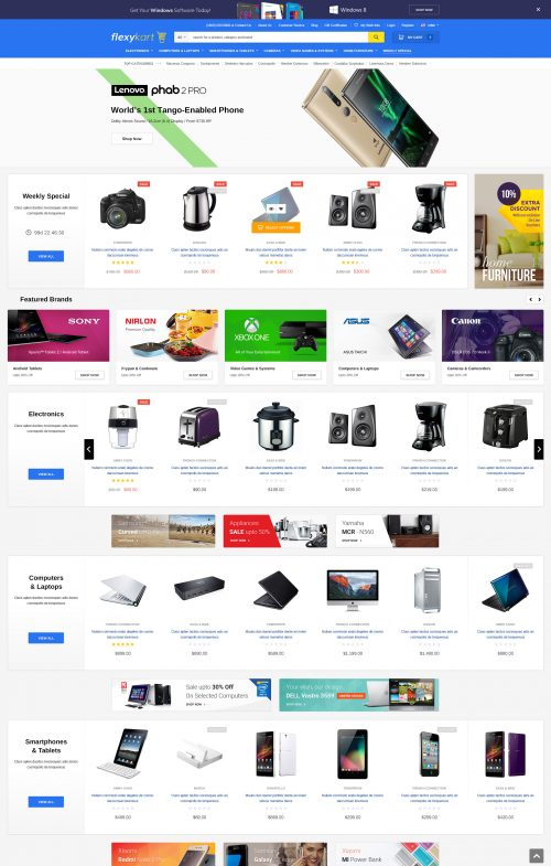 FlexyKart – Premium Responsive Bigcommerce Template (Stencil Ready)