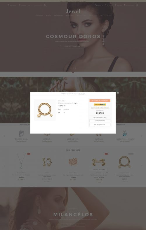 Jewel - Premium Responsive BigCommerce Template (Stencil Ready)