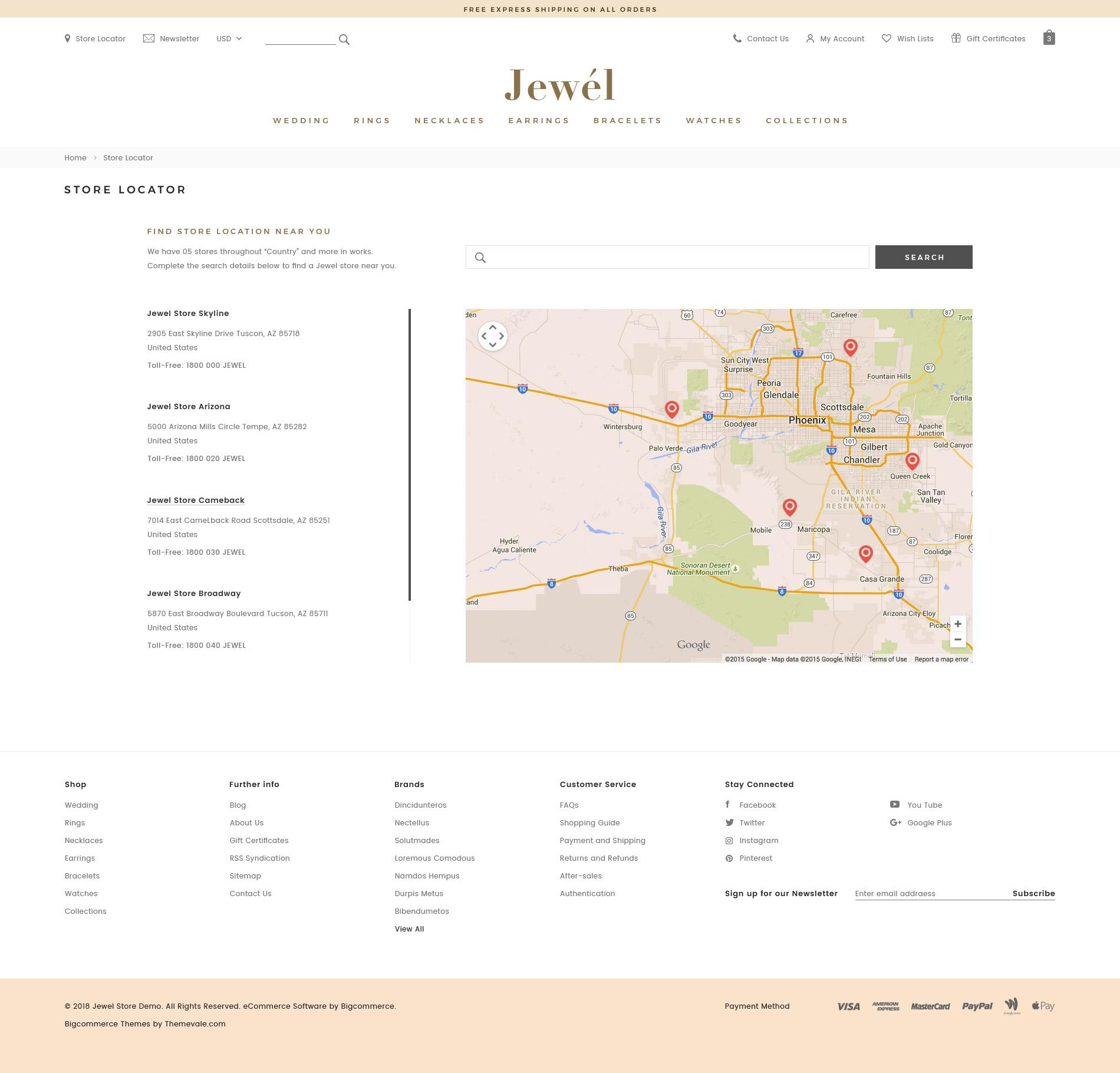 Jewel - Premium Responsive BigCommerce Template (Stencil