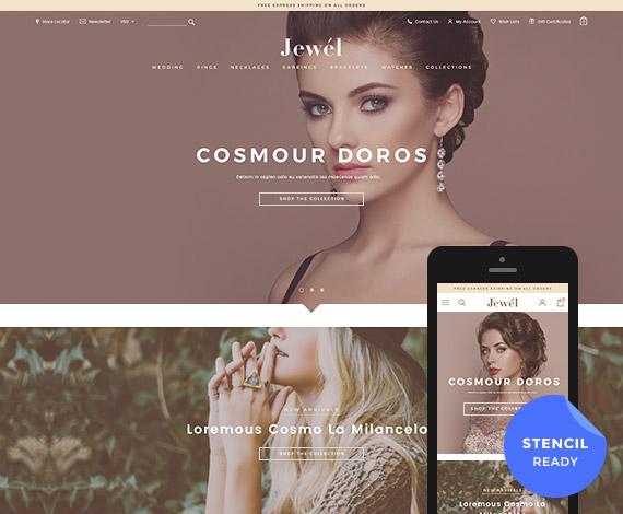 Jewel - Premium Responsive BigCommerce Template (Stencil Ready)Jewel - Premium Responsive BigCommerce Template (Stencil Ready)
