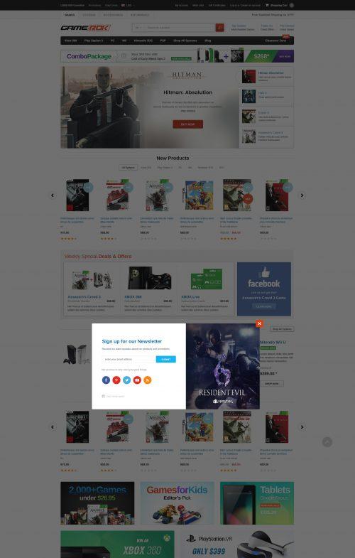 GameRok - Premium Responsive Bigcommerce Template (Stencil Ready)