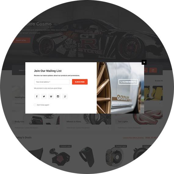SPARK - Cars & Auto Parts Automotive BigCommerce Theme