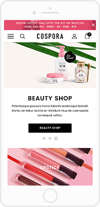 COSPORA - Responsive Health & Beauty BigCommerce Template (Stencil Ready)
